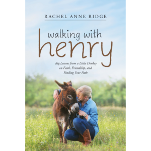 Walking with Henry the donkey Rachel Ridge